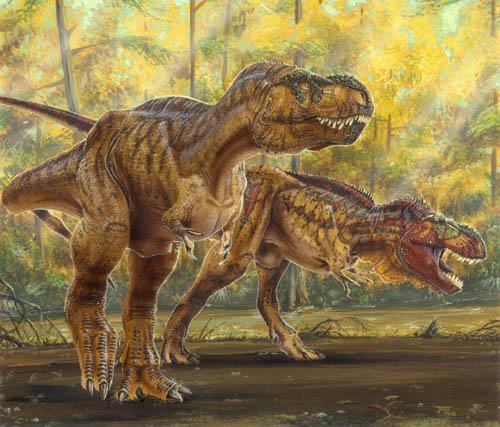 Tyrannosaurs Todd Marshall Jpg