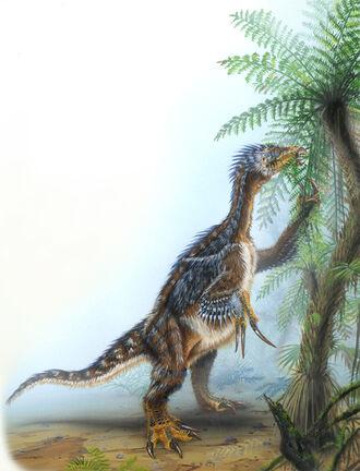 Therizinosaurus-Todd-Marshall