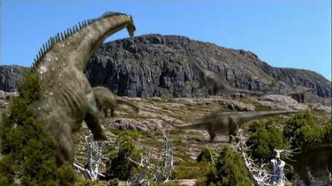 Walking with dinosaurs - Time of the Titans part 3
