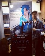 Kevin and Meta Runner poster