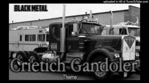 Crietich Gandoler Theme -Black metal Instrumental 2018-