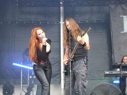 Epica Hellfest 2007 22