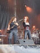 Epica Hellfest 2007 19