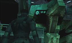 MGS1 Metal Gear REX & Solid Snake
