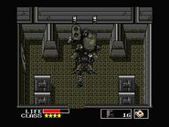 Solid Snake Vs. Metal Gear TX-55