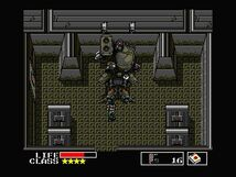 Solid Snake Vs. Metal Gear TX-55