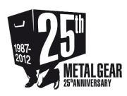 25th metal gear anniversary