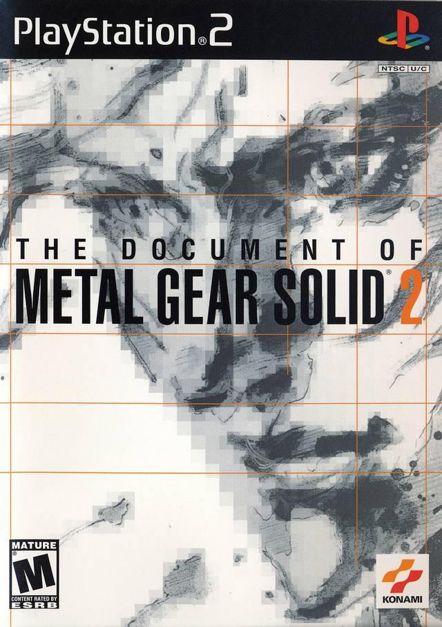 The Document of Metal Gear Solid 2 | Metal Gear Wiki | FANDOM