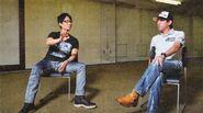 Hideo Kojima and Shinji Mikami