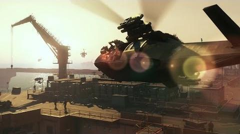 Gamescom 2015 GAME PLAY DEMO METAL GEAR SOLID V THE PHANTOM PAIN (US) ESRB KONAMI