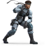 SSB Ultimate Snake render
