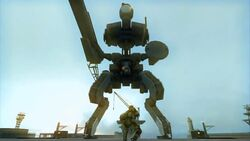 MGS PW - Big Boss vs Metal Gear ZEKE