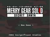 Merry Gear Solid: Secret Santa