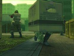 Metal Gear Solid 3 Caja de Carton.