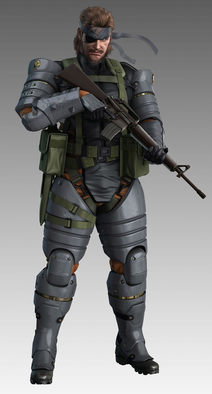 Pin em Metal Gear Solid 3: Snake Eater