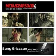 MGS4 Sony Ericsson W62S