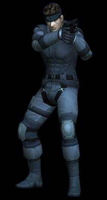 Solid Snake The Twin Snakes