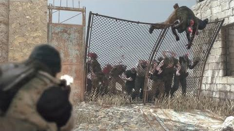 Official METAL GEAR SURVIVE TGS 2016 GAME PLAY DEMO KONAMI (ESRB)