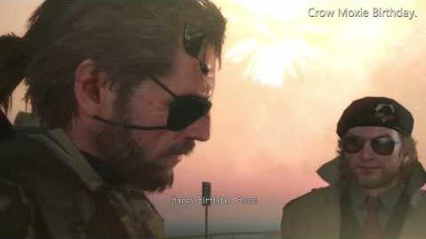 MGSV Birthday Scene First Birthday
