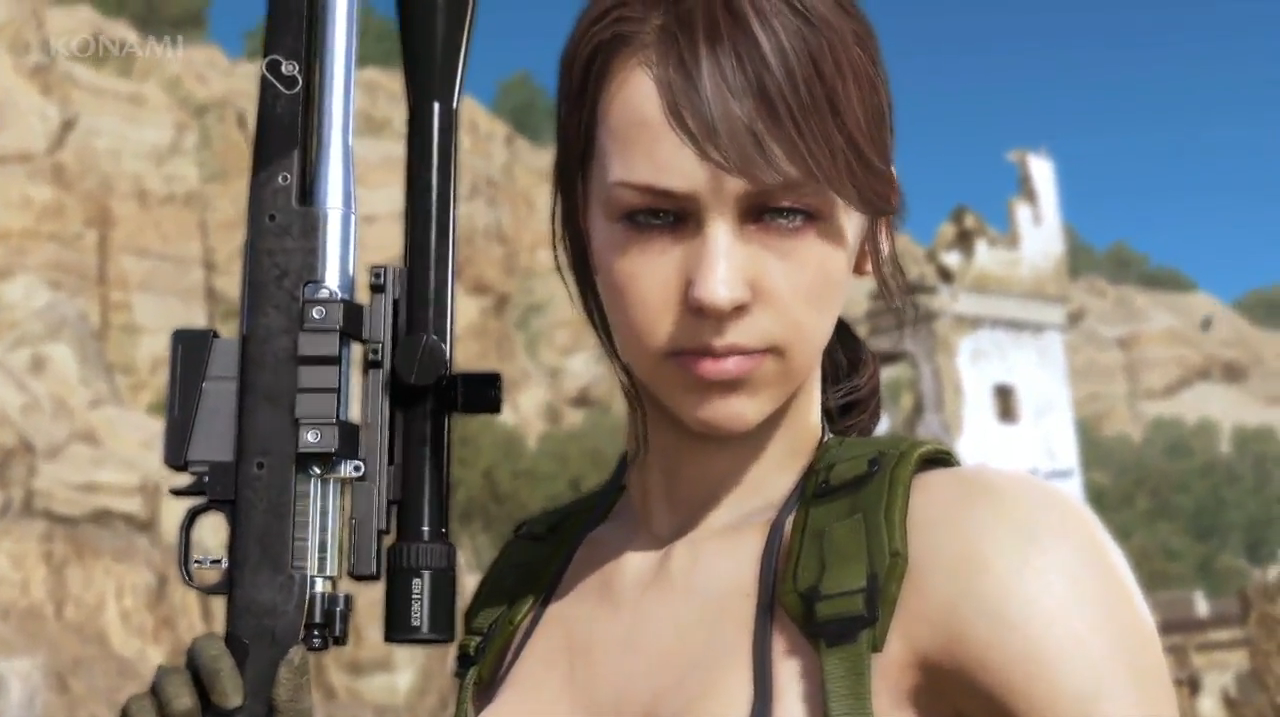 """Image result for Quiet """"Metal Gear Solid V: The Phantom Pain"""
