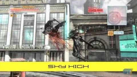 Metal Gear Rising Revengeance - Skill Upgrades Trailer