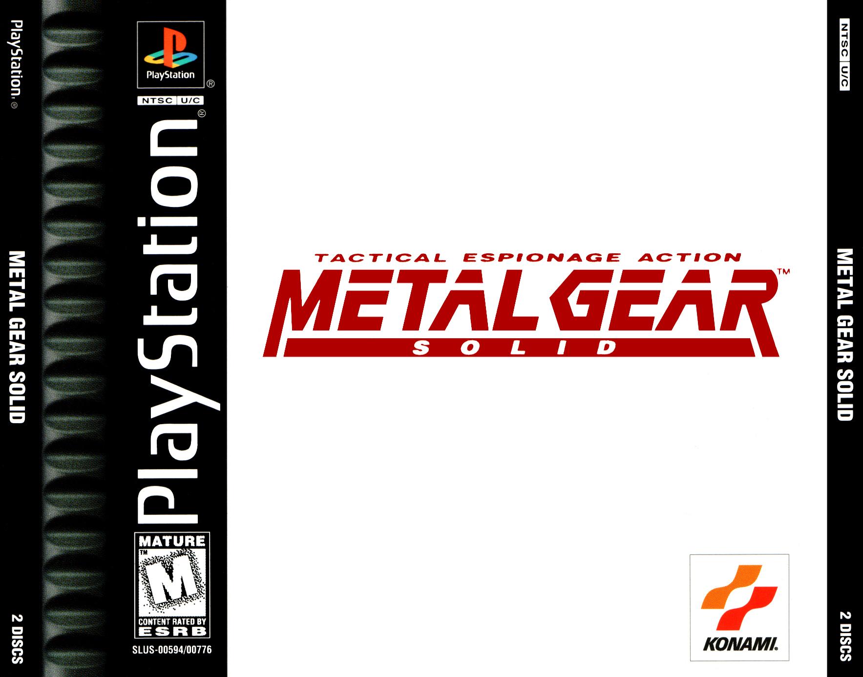 Metal Gear Solid | Metal Gear Wiki | FANDOM powered by Wikia