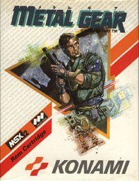 Metal Gear Portada