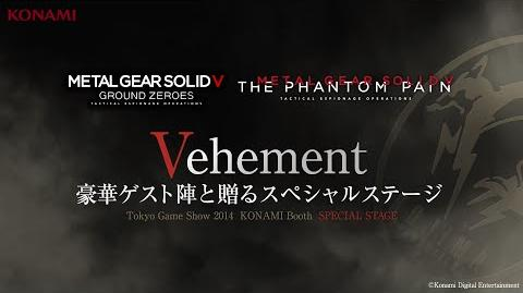 【TGS2014】METAL GEAR SOLID V GROUND ZEROS Special Stage -Vehement- (『MGSV GZ』魅せプレStage)