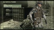 French OctoCamo Menu (Metal Gear Solid 4)