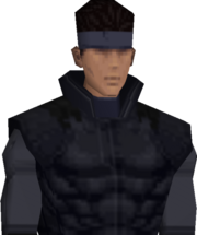 MGS1 Solid Snake