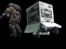 Metal gear solid 2 cardboard box