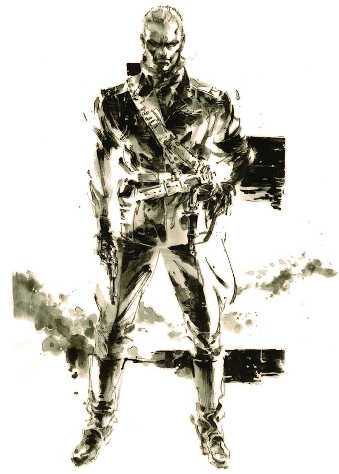 Revolver Ocelot Metal Gear Wiki Fandom