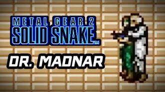 Metal Gear 2 Solid Snake (PS3) -DR. MADNAR Boss Fight