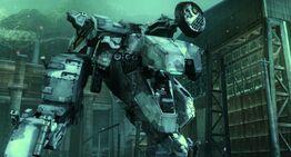 Metal Gear Rex in MGS4