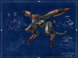 Metal Gear RAY (Unmanned Gear)