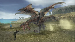 Rathalos vs Big Boss