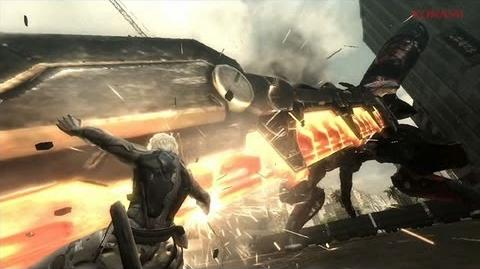 『METAL GEAR RISING REVENGEANCE』キレるWEBムービー