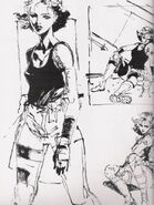 Metal Gear Solid 1 The Twin Snakes Meryl Silverburgh 1
