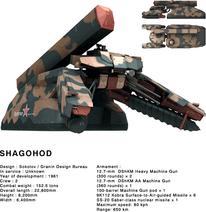MGS3 Shagohod profile