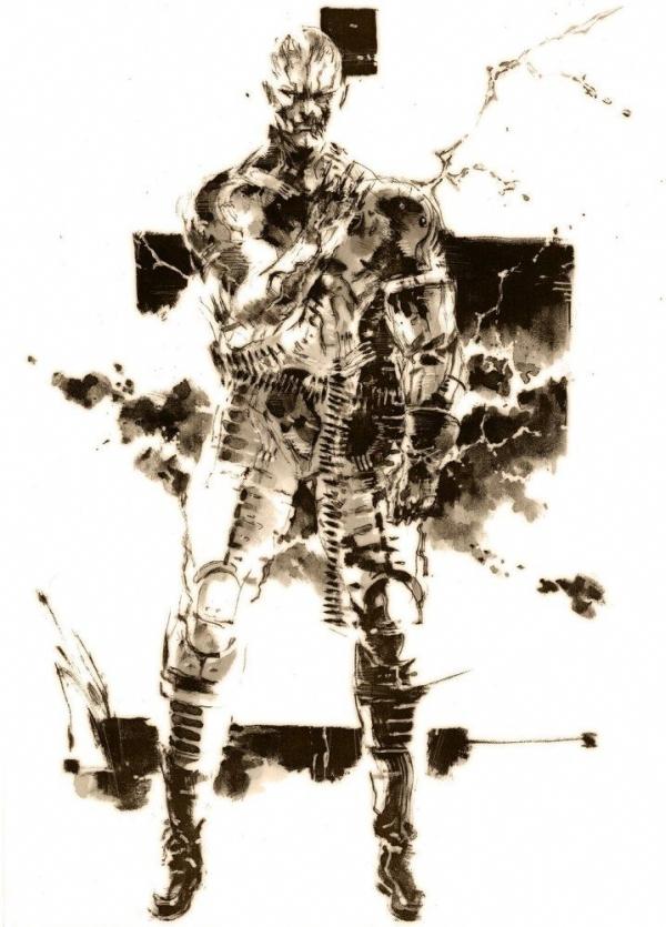 Character Gallery Metal Gear Solid 3 Metal Gear Wiki Fandom