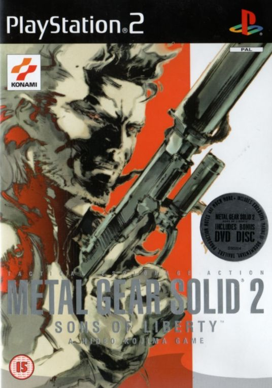 Resultado de imagem para MGS 2 PS2