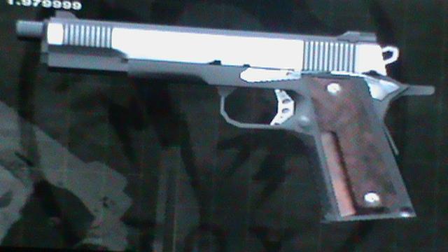 M1911A1 | Metal Gear Wiki | FANDOM powered by Wikia M1911 Custom Mgs4