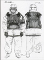 Armored Artic Soldier concept art for MGS TTS.PNG