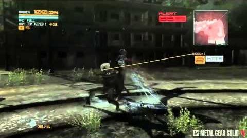 METAL GEAR RISING REVENGEANCE (メタルギアライジング リベンジェンス) Gameplay