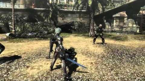 "Metal Gear Rising Revengeance - Cyborg Soldiers ""Cut at Will"" Gameplay MetalGearSolidTV.com"