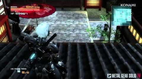 Metal Gear Rising Revengeance - AR Mode Trailer MetalGearSolidTV.com
