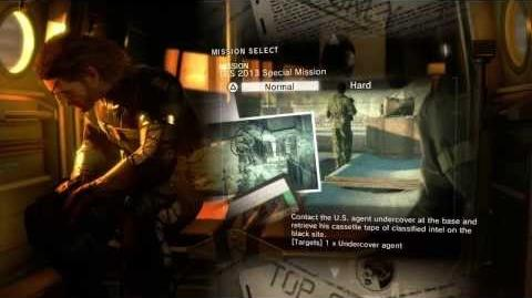 METAL GEAR SOLID V GROUND ZEROES 12-Minute Daytime Mission with Producer Commentary