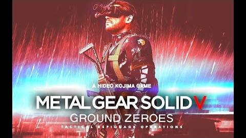 "(60fps) MGS V - Ground Zeroes Main Mission ""Naked Run"" on HARD (S-Rank)"