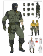 Diamond Dogs Soldier Concept