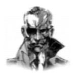 Big Boss portrait MGS 4 Database